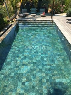 Pool decks are the hardscape areas that surround the pools. They prevent the bare feet from stepping into mud as well as providing an epic transition from lawns to the pool. Backyard Pool Designs, Small Backyard Pools, Small Pools, Swimming Pools Backyard, Pool Landscaping, Pool Decks, Lap Pools, Indoor Pools, Swimming Pool Tiles