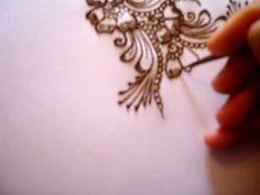 how to do a henna design