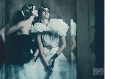 the haute couture paolo roversi lori goldstein vogue italia sept10