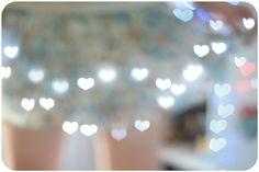 efeito coração fotografias