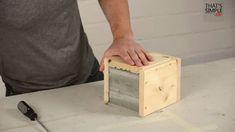 Diy: Concrete Lamp (Video Tutorial) Architecture + Interiors DIY + Crafts