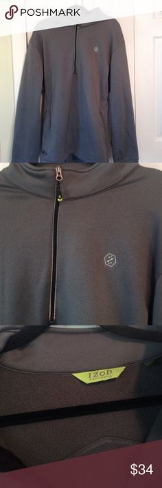 💕💕NWOT Mens Performance Pullover Gray Activewear , Dri-Fit Outside , Fleece Inside , X Mas Gift For My Husband Last Year , Never Wore , Making Room To Buy More For Him , To Sit In Closet , And Then ......... 😊❤️💋Gotta Love Them Izod Jackets & Coats Performance Jackets