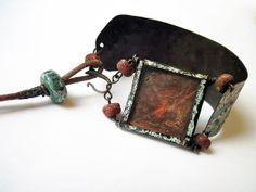 Manus Dei. Victorian Gypsy Recycled Rustic Tin by fancifuldevices