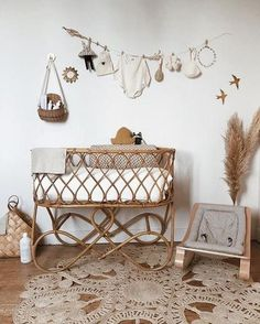 So today we are sharing 13 Boho Chic Nursery Designs that we absolutely love and are currently obsessed with. Baby Bedroom, Baby Boy Rooms, Baby Room Decor, Kids Bedroom, Kids Rooms, Chic Nursery, Nursery Neutral, Nursery Room, Nursery Decor