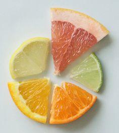 Variedad de cítricos #fruta