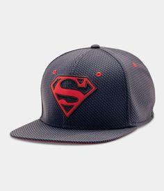 614cd8ea8c0 Men s Under Armour® Alter Ego Superman Cap. Flat Bill HatsRetro ...