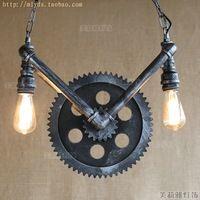 Retro Loft Style Industrial Lighting Fixtures Lampe Vintage Pendant Light For…