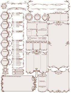 took me ages to find this because my folders are a disorganized mess but and anyone else who wants to use this, it's fine (if you right click the image into a new tab, it will be the. Rpg Character Sheet, Character Sheet Template, Male Character, Character Creation, Pathfinder Character Sheet, Character Concept, Concept Art, Dungeons And Dragons Homebrew, Dungeons And Dragons Characters