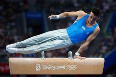 Gymnastics Events, Elite Gymnastics, Artistic Gymnastics, Olympic Gymnastics, Olympic Sports, Olympic Games, Mens Leotard, Italy Culture, Male Gymnast