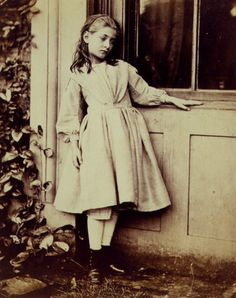 Photographer: Lewis Carroll, the writer of 'Alice in Wonderland'. This is one of the few photograph's that are left of his, and this is the portrait of the girl that inspired the character Alice.