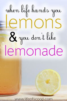 Sometimes life hands you a fistful of lemons and you don't even like lemonade. It's like when you're dealt a series of burdens, or struggles, or hardships - and you don't know what to do with it! These five truths can help. Trust them, believe them, and hand those lemons to the One who promises to carry all burdens!