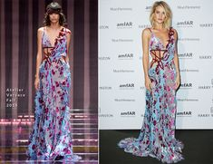 Rosie Huntington-Whiteley In Atelier Versace - amfAR Paris