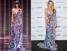 Rosie Huntington-Whiteley In Atelier Versace - amfAR Paris