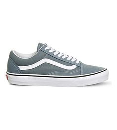 VANS Old Skool suede and canvas sneakers. #vans #shoes #