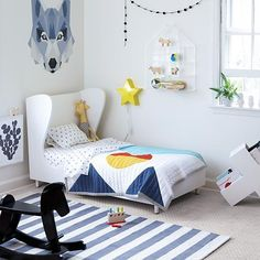 Kids' room decor inspiration.
