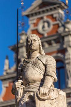 Riga, the Roland statue by Maarten Hoek on 500px