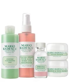 Treat the skincare-lover in your life to a little indulgence with Mario Badescu's 50th Anniversary Edition Set.