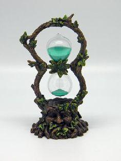 Greenman Sand Timer Celtic Greenman Hour Glass  FREE SHIPPING FREE PHOTON$