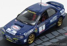 EDICOLA PASRACOL092 Масштаб 1/43  SUBARU IMPREZA WRC 555 N 1 RALLY MEMORIAL BETTEGA 1993 C.McRAE BLUE