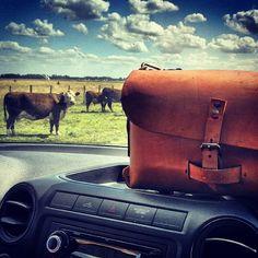 Leather Bag, MotoBag