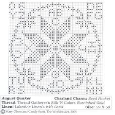 Quaker Evens [Months] Cross Stitch Heart, Cross Stitch Alphabet, Cross Stitch Samplers, Cross Stitching, Cross Stitch Embroidery, Cross Stitch Patterns, Cross Stitch Christmas Cards, Christmas Cross, Cross Stitch Freebies