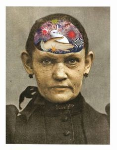 "Saatchi Art Artist Lynn Skordal; Collage, ""Magical Thinking"" #art"