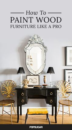 Browse the local flea market or scan Craigslist, and you'll find a surplus of affordable but dated wood furniture. These vintage pieces might seem beyond saving, but with some imagination and a couple coats of paint, they can be transformed into contemporary masterpieces. So pick a color and read on to learn how to paint wood furniture like you've been doing it for years.