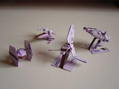 Star War Origami ticket metro (3)