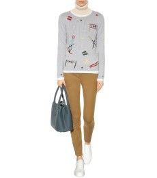 Loro Piana - Embroidered cashmere sweater - mytheresa.com