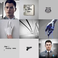 Detroit become human Connor aesthetic Detroit Being Human, Detroit Become Human Game, Luther, What Is English, Humanity Quotes, Bryan Dechart, Quantic Dream, Becoming Human, Human Art