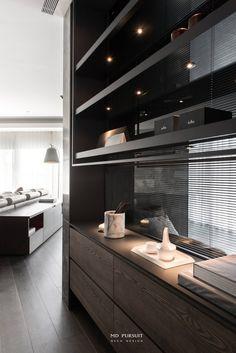Funny Furniture, Built In Furniture, Cool Furniture, Shelving Design, Bookshelf Design, Interior Design Kitchen, Modern Interior Design, Apartment Bathroom Design, Wooden Wall Design
