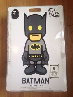 size 40 7591b 69de1 DC Comics Batman x A Bathing Ape Road sta Bape Foot Soldier Size 9. A  Bathing ApeBapeMen s ShoesAthletic ...