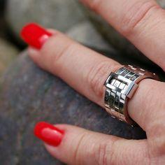 Coal Ring Cici - rostfritt stål
