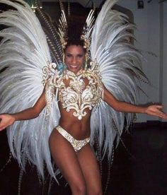 Beautiful samba dance costume! Design by http://freefacebookcovers.net