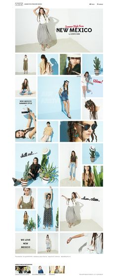 Web Design, Web Banner Design, Page Design, Print Layout, Web Layout, Layout Design, Lookbook Layout, New Mexico Style, Photo Layouts