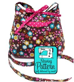 Petite Cross-body Bag ePattern to Sew - Designer
