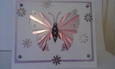 iris folded butterfly - craftuprint pattern