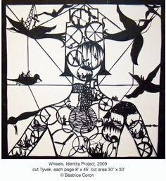 Identity Project by Béatrice Coron Beatrice, Public Art, Illustration, Walker Art Center, Artist Books, Art, Humanoid Sketch, Arts Ed, Paper Art