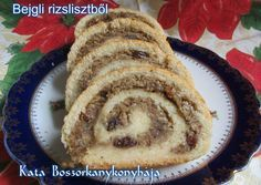 Bejgli rizslisztből - gluténmentes, laktózmentes, élesztőmentes, cukormentes Gf Recipes, Healthy Recipes, Healthy Cake, Cake Cookies, Paleo, Clean Eating, Food And Drink, Tasty, Sweets