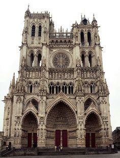 Catedral de Amiens, Francia. -Arte Gótico.