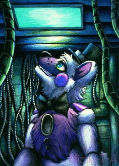 The longing for the light / Funtime Freddy FNaF SL by Mizuki-T-A.deviantart.com on @DeviantArt