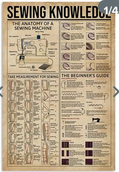 Sewing Lessons, Sewing Class, Sewing Basics, Sewing For Beginners, Sewing Hacks, Sewing Tutorials, Sewing Projects, Sewing Tips, Sewing Stitches