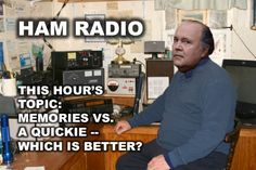 Golden Girls meme Ham Lushbaugh ham radio i'd trade in all my memories for a quickie Golden Girls Meme, Girl Memes, Ham Radio, My Memory, Memories, Memoirs, Remember This