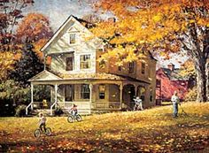 looks just like my 'almost' dream house Our House - Robert Abbett