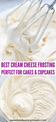 Cream cheese frosting cake - Cream Cheese Frosting makes the perfect frosting recipe that can be used on either cupcakes or layer cakes frosting creamcheese creamcheesefrosting dessertrecipes sweetandsavorymeals cakes cup Frosting Recipes, Cake Recipes, Simple Frosting Recipe, Best Frosting Recipe For Decorating, Cooked Frosting Recipe, Cupcakes Decorating, Pastry Recipes, Best Dessert Recipes, Köstliche Desserts