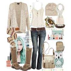 Minty Autumn - Keep it Fresh!, created by sarah-k-davis on Polyvore