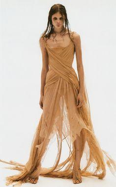 The Shipwreck Dress by Alexander McQueen 2003