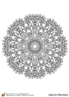 Mindfulness Mandalas Nº1 | Mandalas, Mandala coloring and Supply list