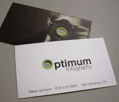 The Most Creative Photographer Business Cards | Photographer ...