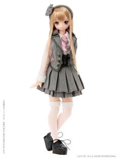 Pink Azone Doll